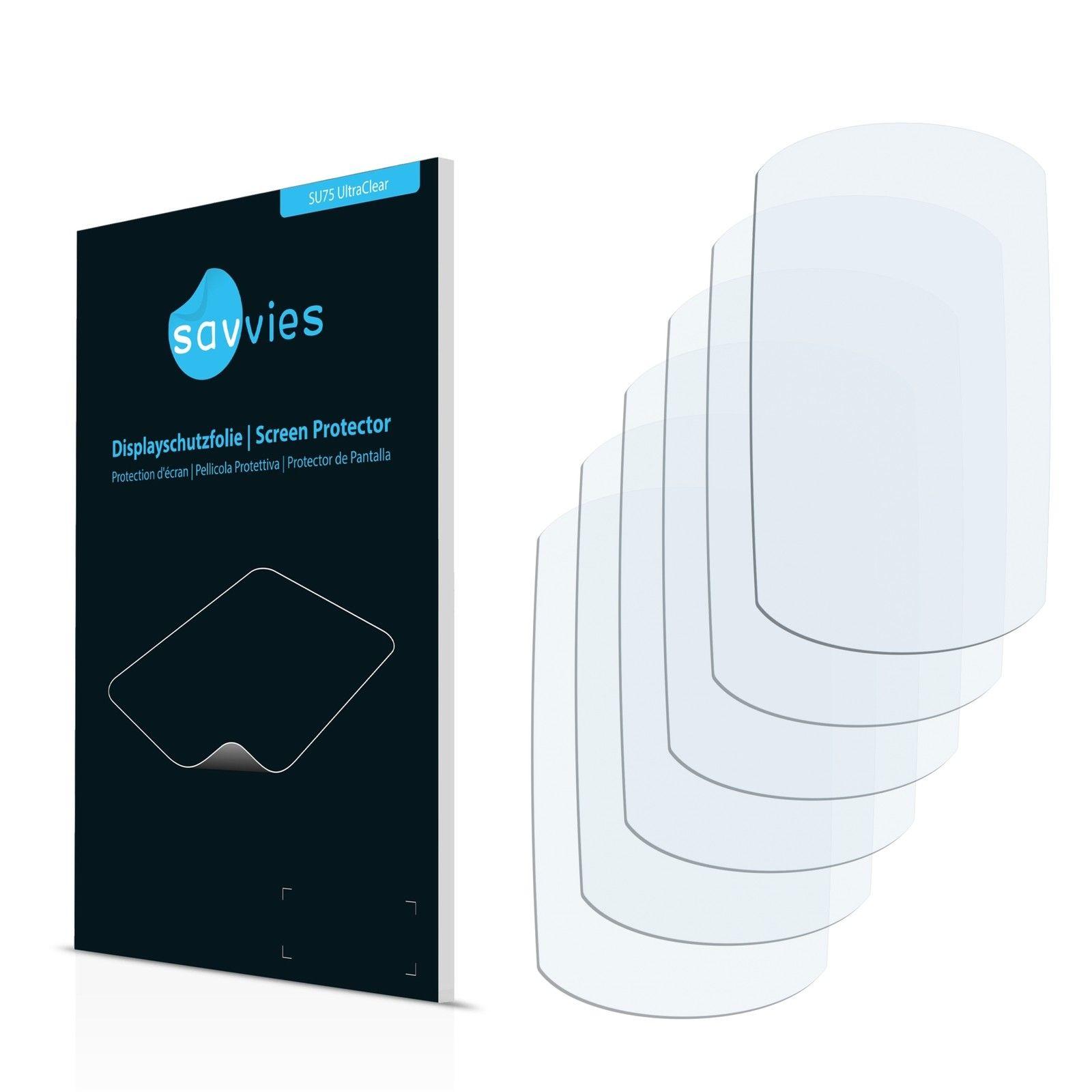6 ks Ochranná fólie na LCD displej pro Garmin Edge 205