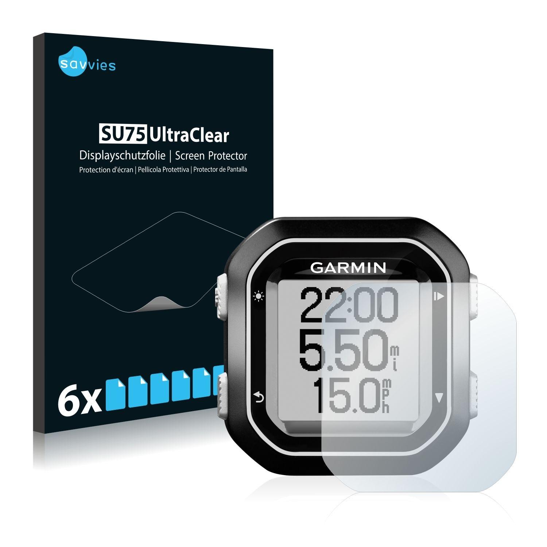 6 ks Ochranná fólie na LCD displej pro Garmin Edge 25