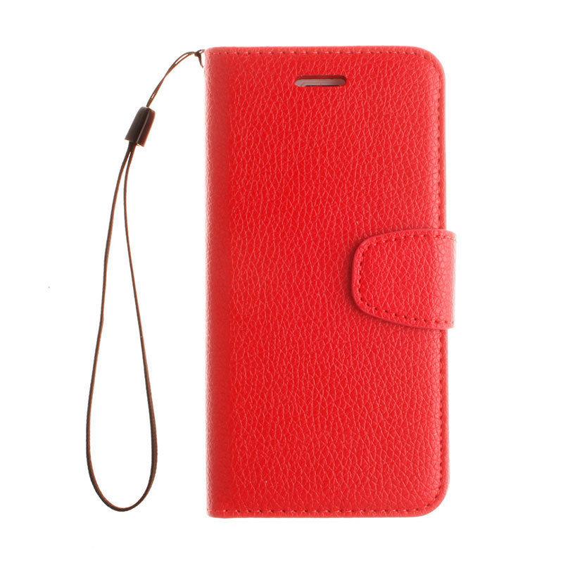 Flipové peněženkové pouzdro pro Lenovo P70 - červené