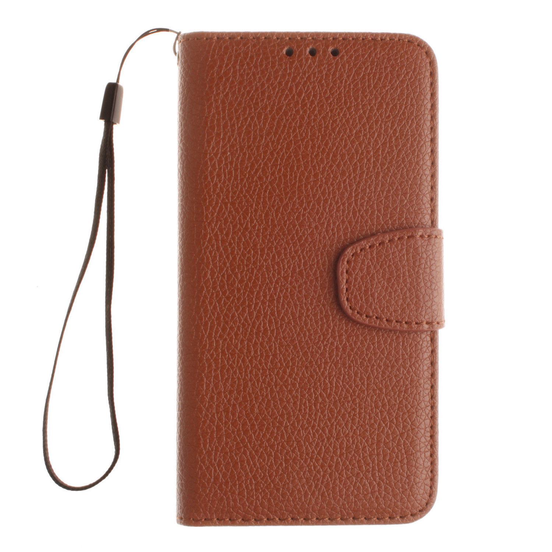 Flipové peněženkové pouzdro pro Samsung Galaxy A3 (2017) - hnědé