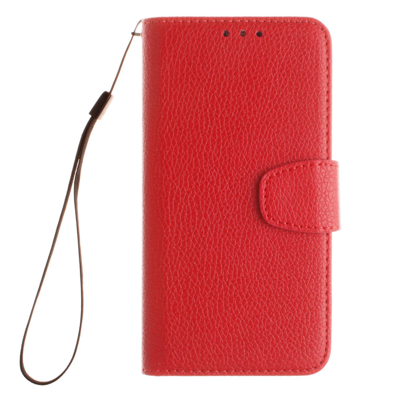 Flipové peněženkové pouzdro pro Samsung Galaxy J5 (2017) - červené