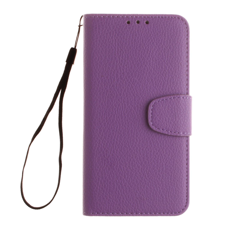 Flipové peněženkové pouzdro pro Samsung Galaxy J5 (2017) - fialové