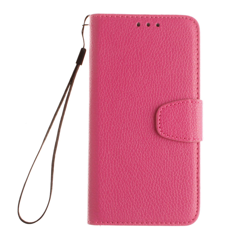 Flipové peněženkové pouzdro pro Samsung Galaxy J5 (2017) - růžové