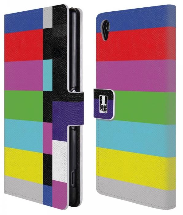 Flipové peněženkové pouzdro pro Sony Xperia M4 Aqua (E2303) - Designové barevné