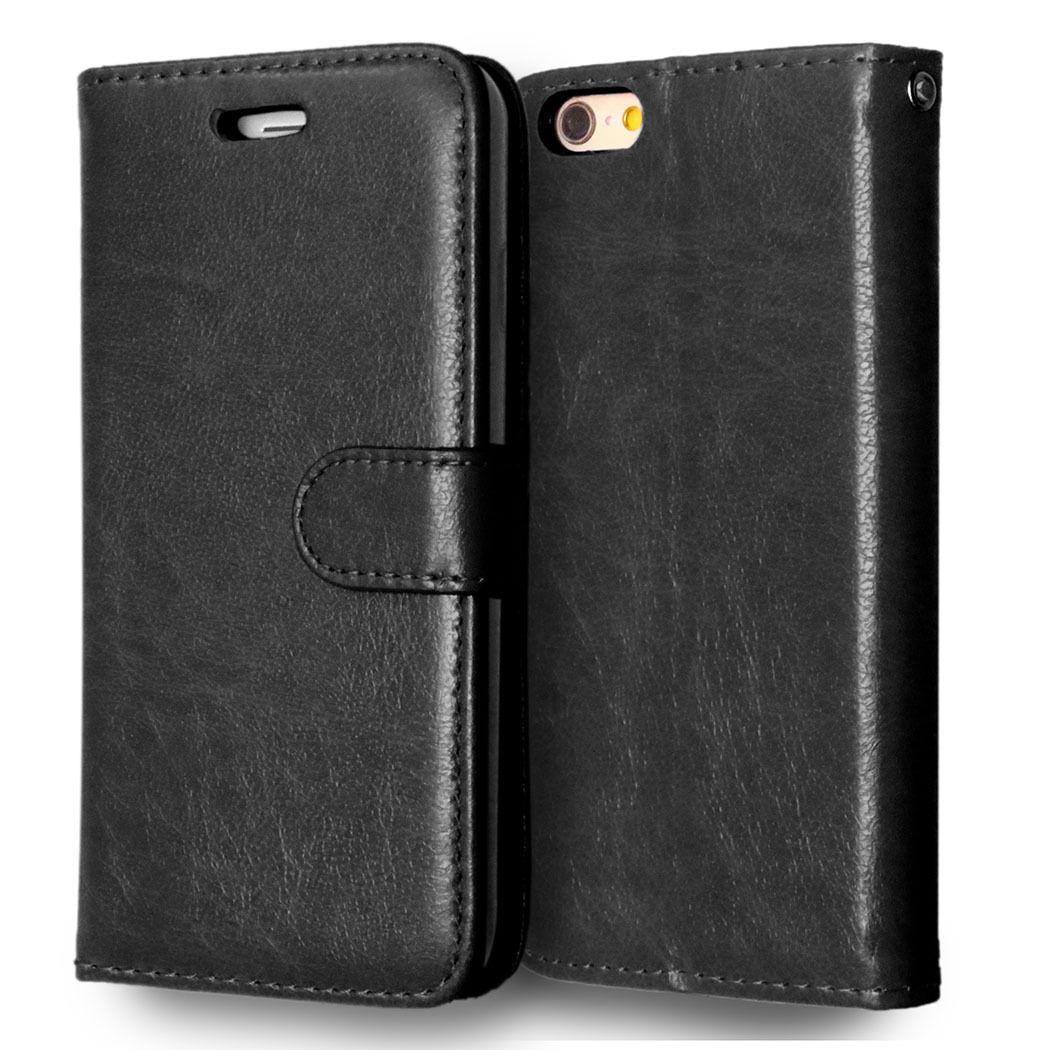 Flipové peněženkové pouzdro pro Sony Xperia Z1 Compact - černé