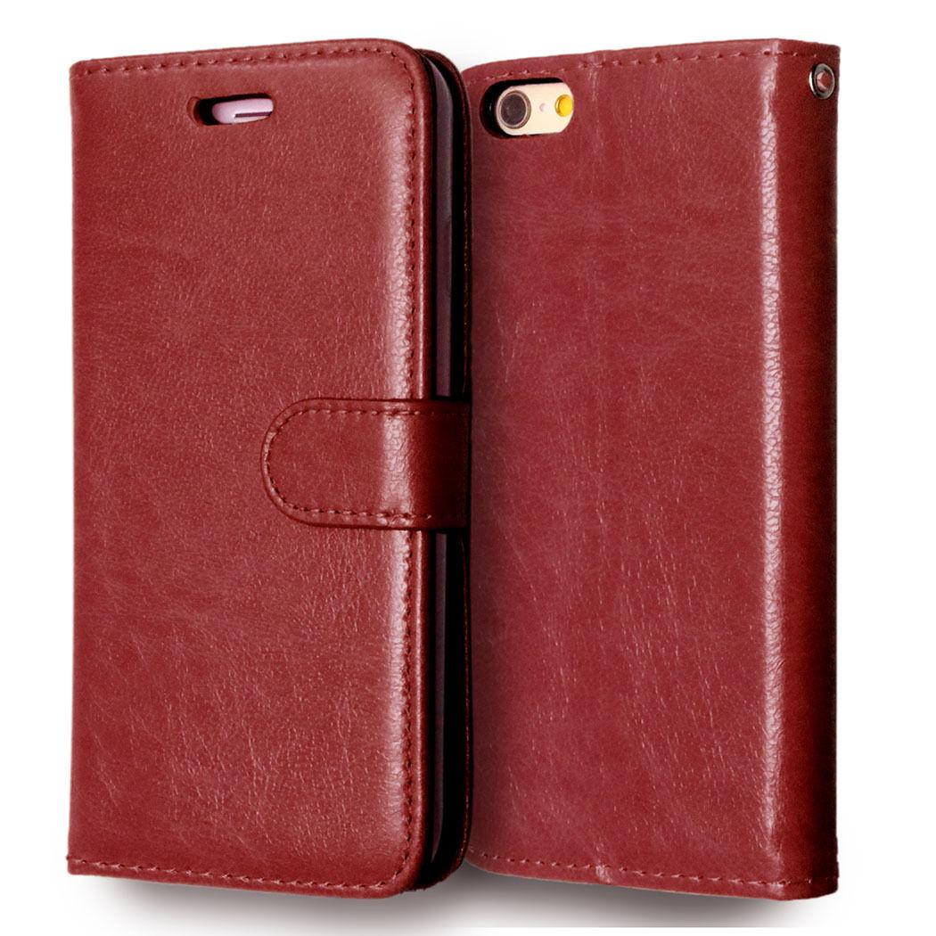 Flipové peněženkové pouzdro pro Sony Xperia Z1 Compact - hnědé