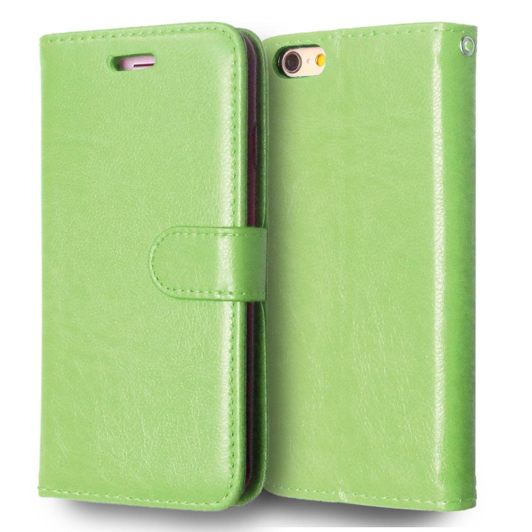 Flipové peněženkové pouzdro pro Sony Xperia Z1 Compact - zelené