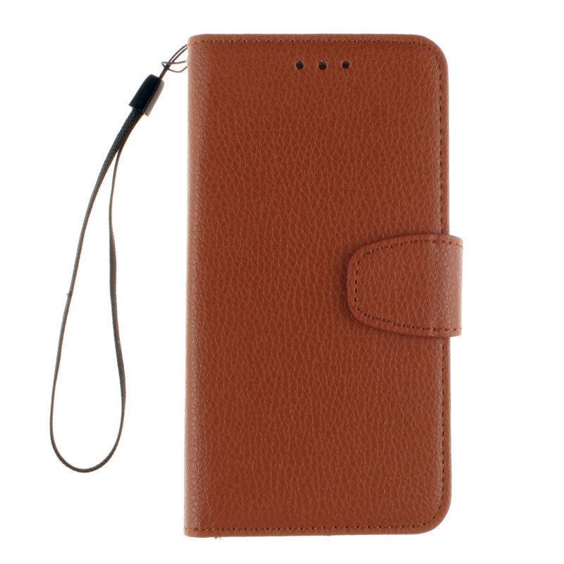 Flipové peněženkové pouzdro pro Sony Xperia Z5 Compact - hnědé