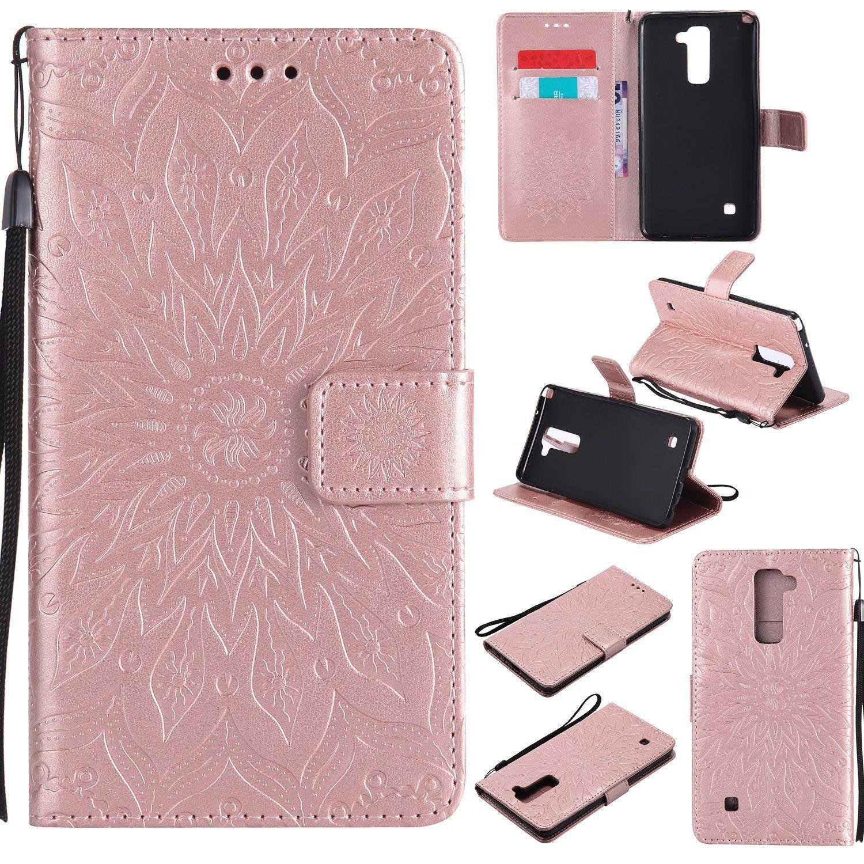 Flipové peněženkové SUNFLOWER pouzdro pro Samsung Galaxy J5 2017 - růžové