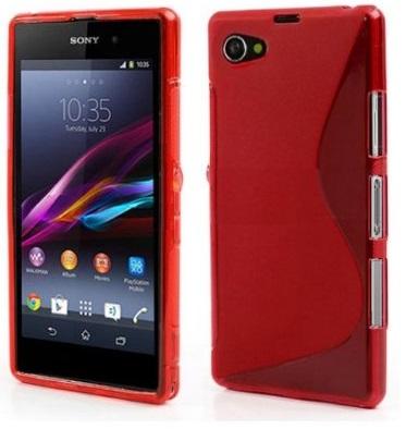 Gelové (silikonové) pouzdro pro Sony Xperia Z1 Compact D5503 - červené