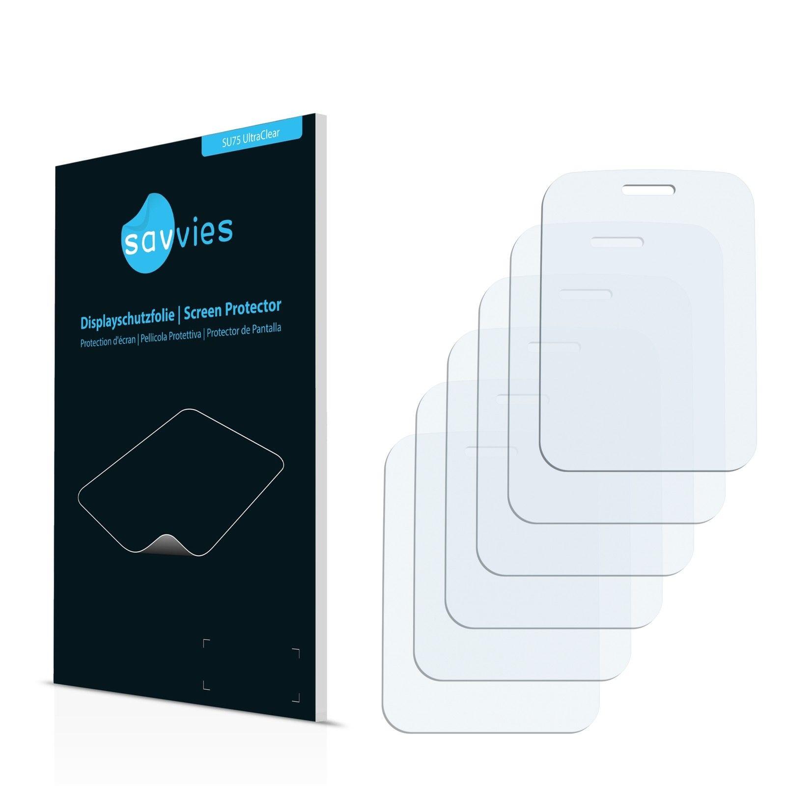 6 ks Ochranná fólie na LCD displej pro Nokia 101