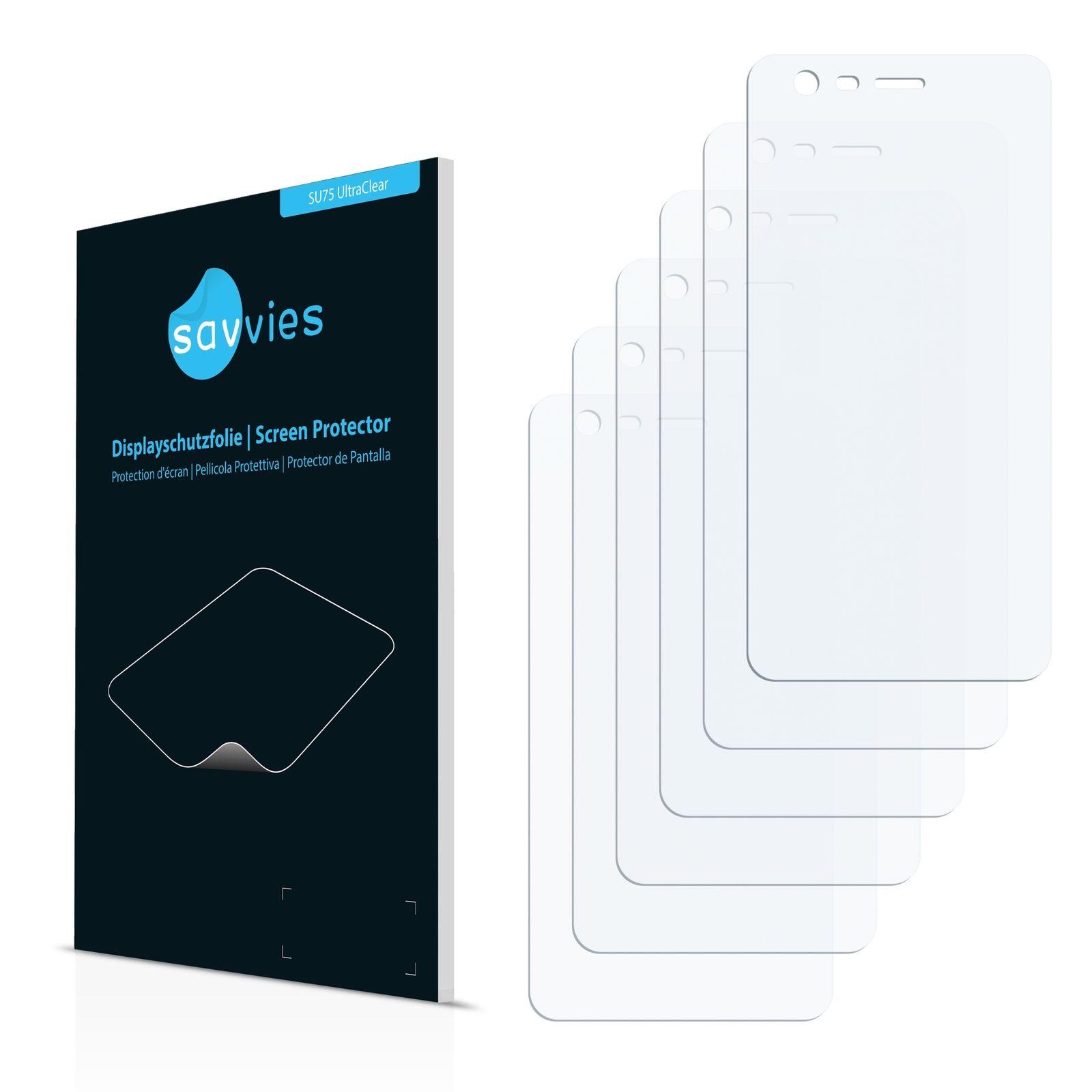 6 ks Ochranná fólie na LCD displej pro Nokia 2