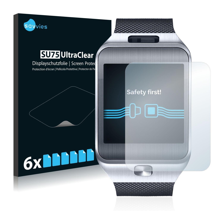 6 ks Ochranná fólie na LCD displej pro Samsung Galaxy Gear 2 SM-R380