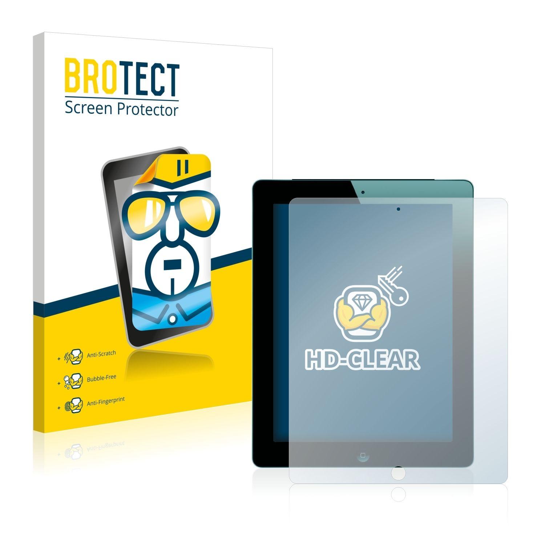 2 ks Ochranná fólie Brotec HD na LCD pro Apple iPad 3