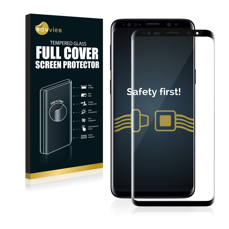 e6f6f131ae Ochranné tvrzené temperované sklo 3D Savvies na LCD displej pro Samsung  Galaxy S9 Duos