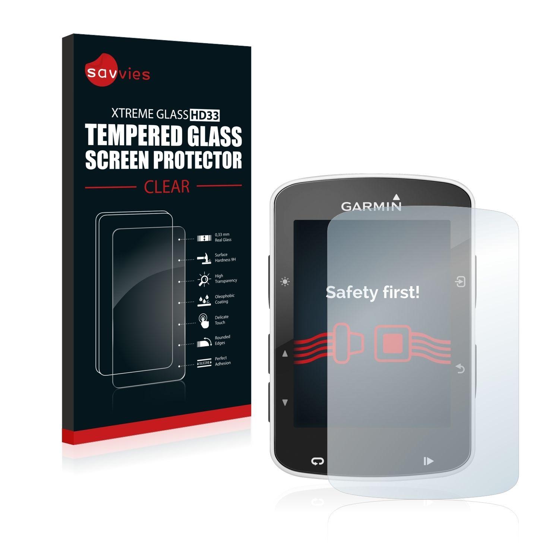 Ochranné tvrzené temperované sklo HD33 na LCD displej pro Garmin Edge 520