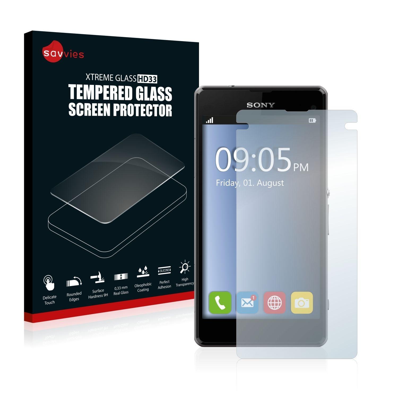 Ochranné tvrzené temperované sklo HD33 na LCD displej pro Sony Xperia Z1 Compact D5503