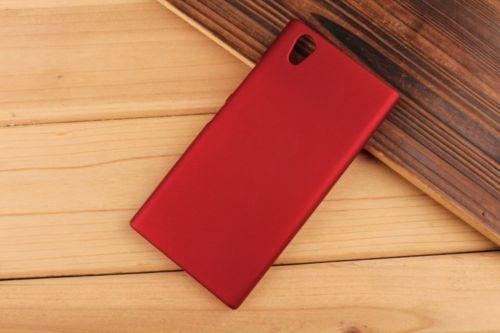 Pevné polykarbonátové pouzdro pro Lenovo P70 - červené