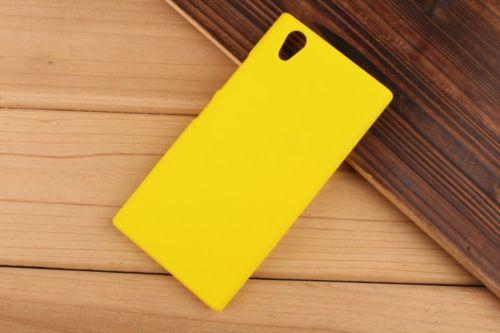 Pevné polykarbonátové pouzdro pro Lenovo P70 - žluté