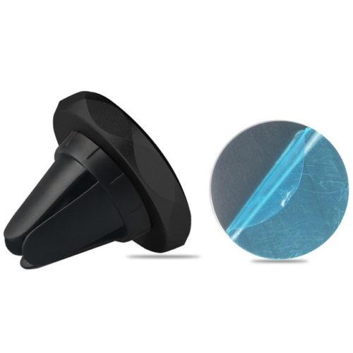 Rhombus magnetický držák mobilního telefonu do mřížky ventilace - černý