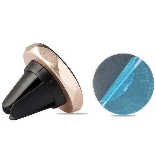 Rhombus magnetický držák mobilního telefonu do mřížky ventilace - zlatý