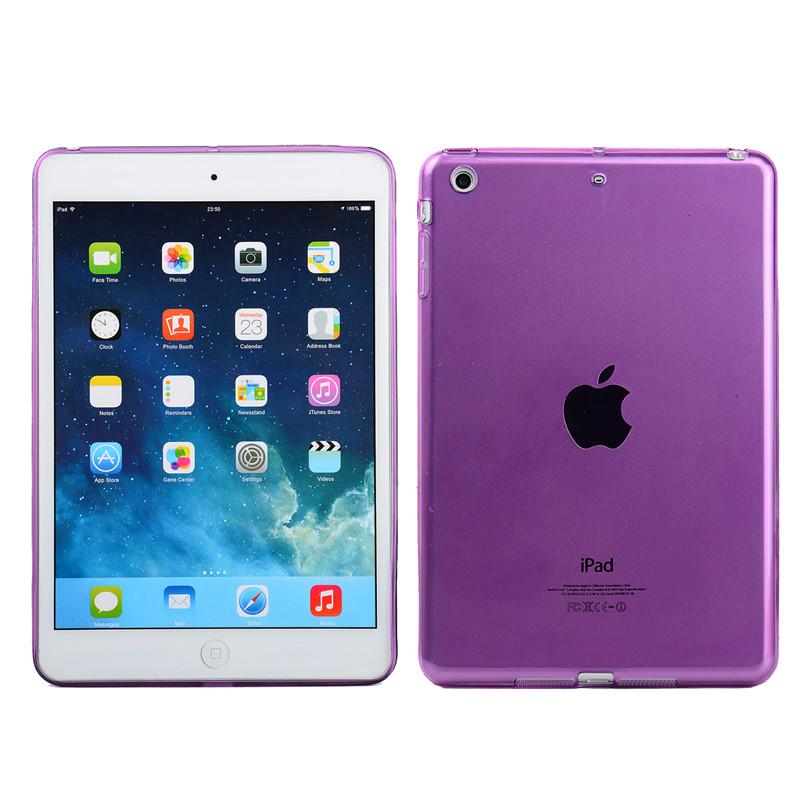 Silikonové ochranné pouzdro pro Apple iPad 2 - fialové