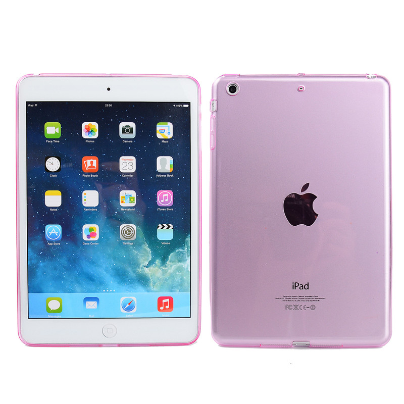 Silikonové ochranné pouzdro pro Apple iPad 2 - růžové