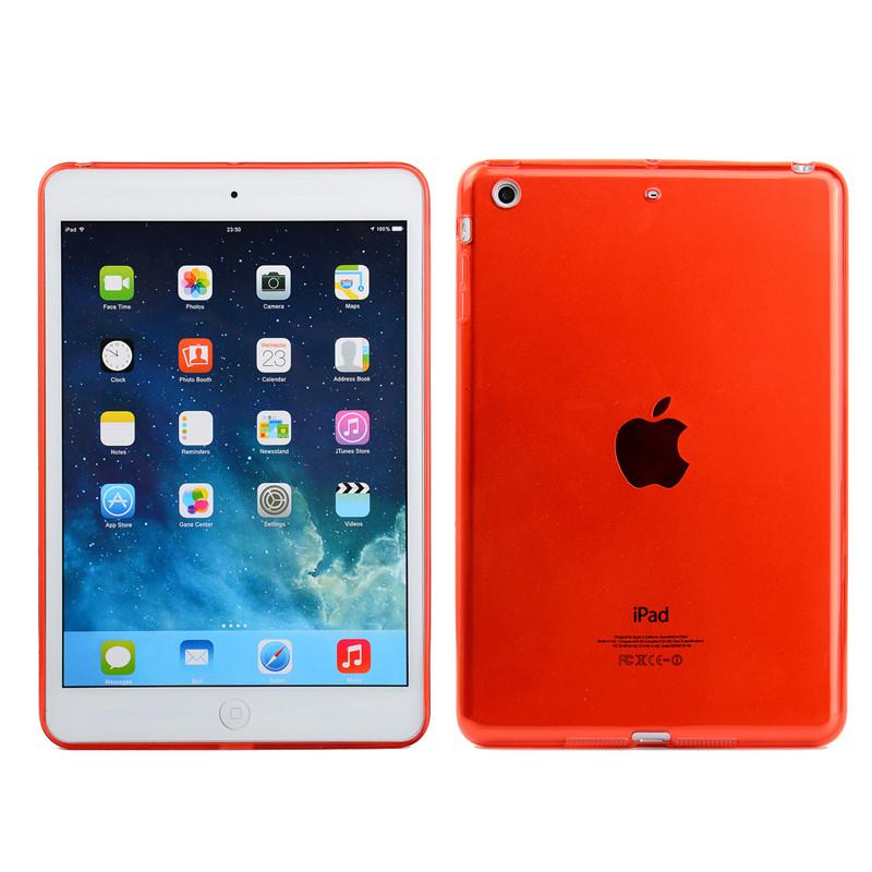 Silikonové ochranné pouzdro pro Apple iPad mini 1/2/3 - červené