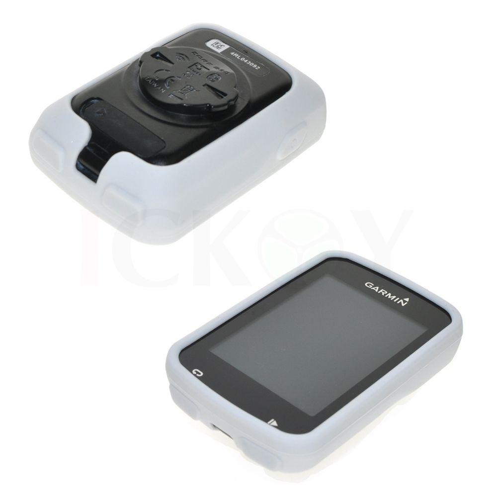 Silikonové ochranné pouzdro pro GPS Garmin Edge 820 - bílé
