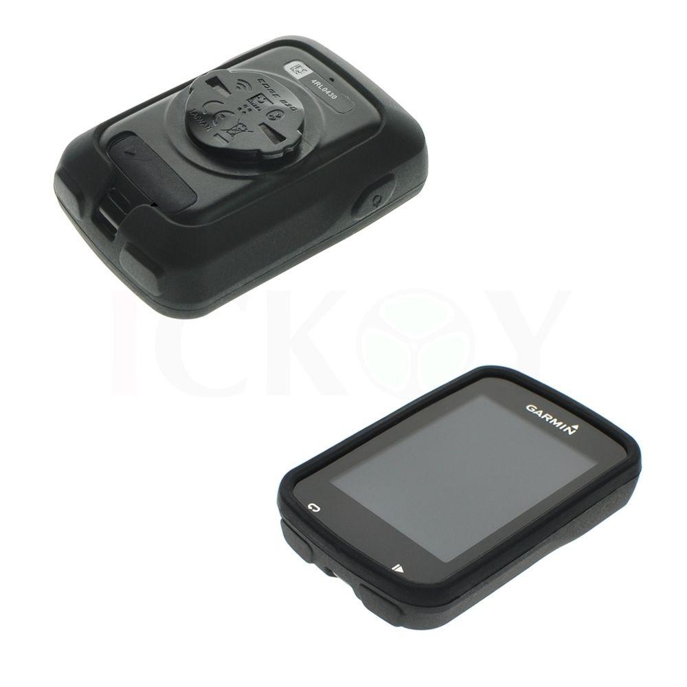 Silikonové ochranné pouzdro pro GPS Garmin Edge 820 - černé