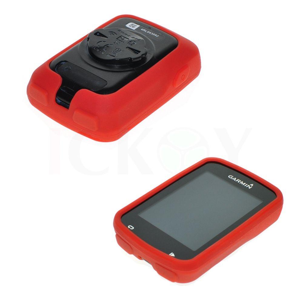 Silikonové ochranné pouzdro pro GPS Garmin Edge 820 - červené