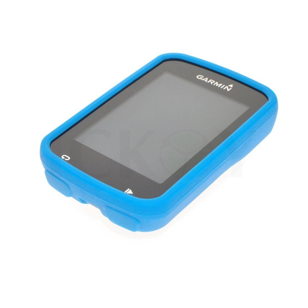 Silikonové ochranné pouzdro pro GPS Garmin Edge 820 - modré světlé