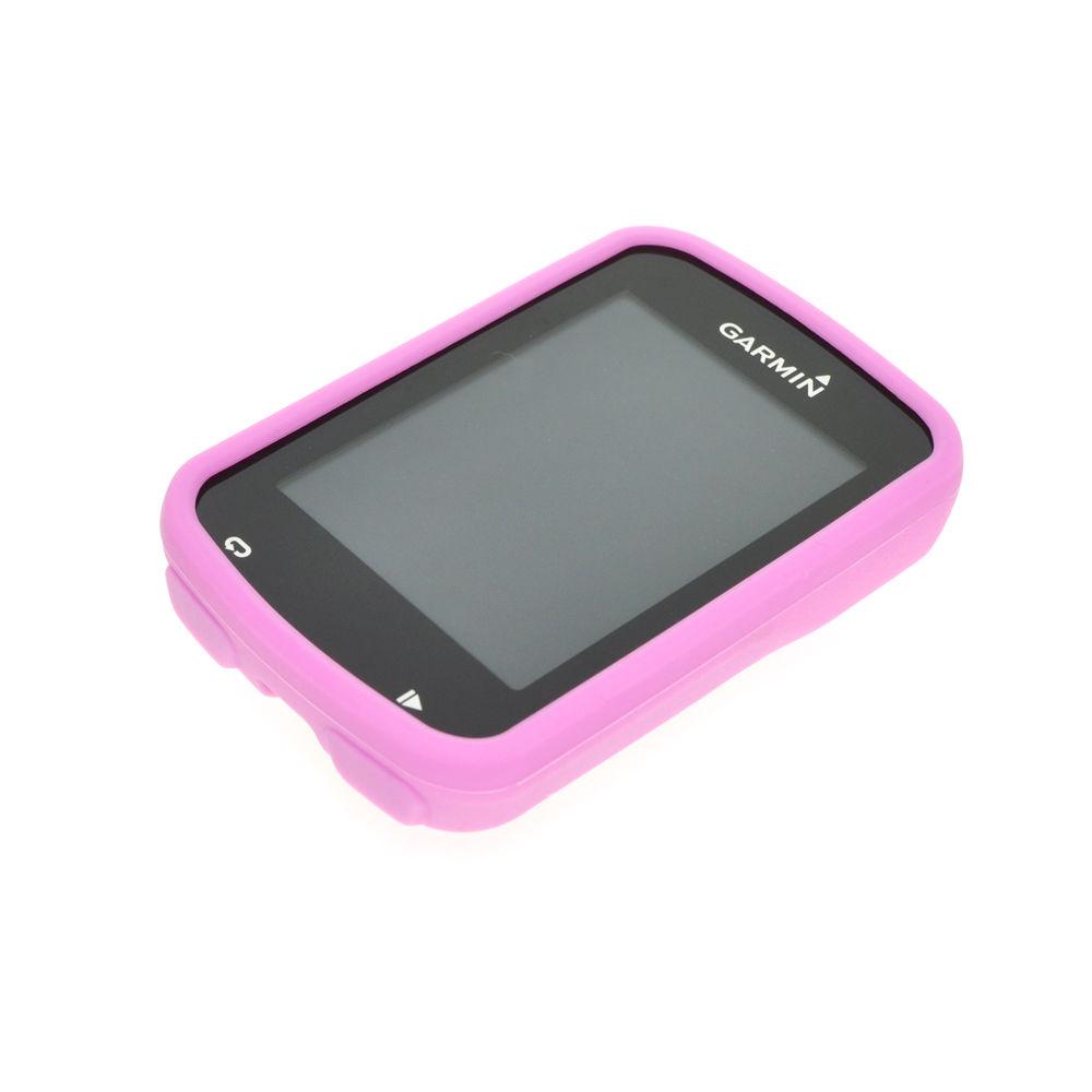 Silikonové ochranné pouzdro pro GPS Garmin Edge 820 - růžové