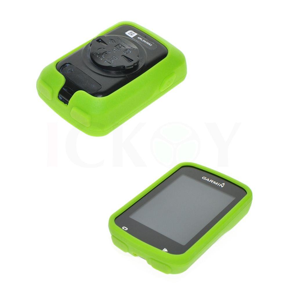 Silikonové ochranné pouzdro pro GPS Garmin Edge 820 - zelené