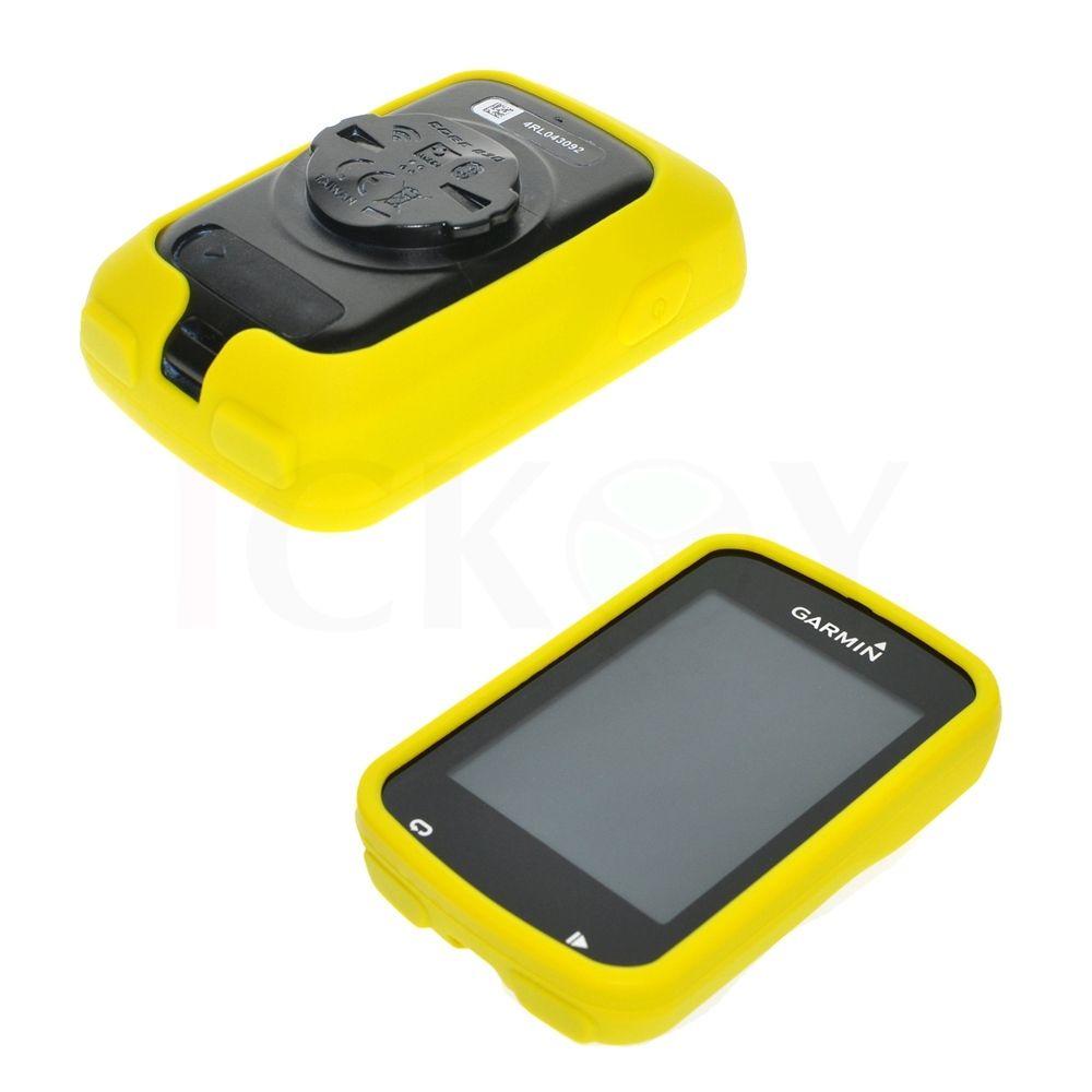 Silikonové ochranné pouzdro pro GPS Garmin Edge 820 - žluté