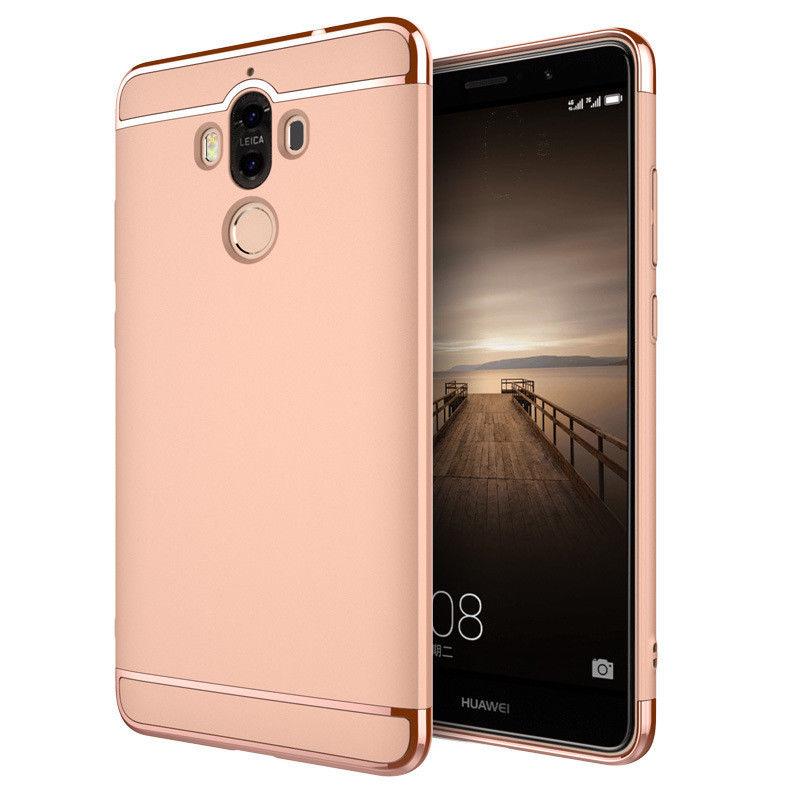 Antishock odolné ALUMINIUM HYBRID ochranné pouzdro pro Huawei P20 Lite - růžové