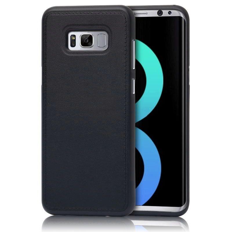 Silikonové prošívané ochranné pouzdro pro Samsung Galaxy S5 Neo - černé