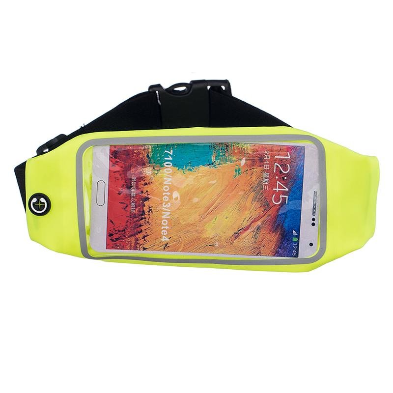 Sportovní ledvinka (pouzdro) na běhání pro Huawei Nova 3 Barva: Zelená