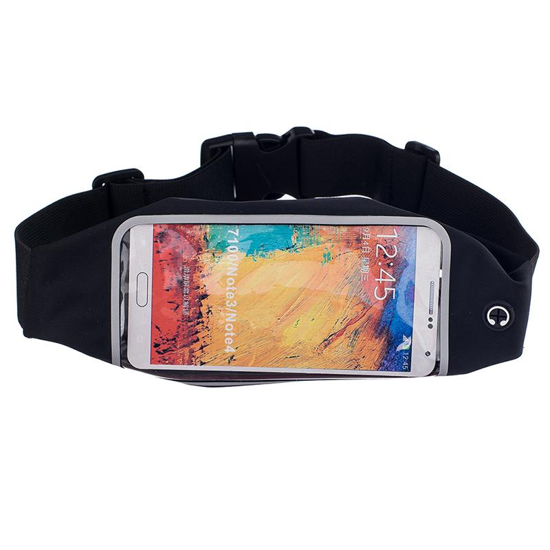 Sportovní ledvinka (pouzdro) na běhání pro Huawei Nova 3 Barva: Černá