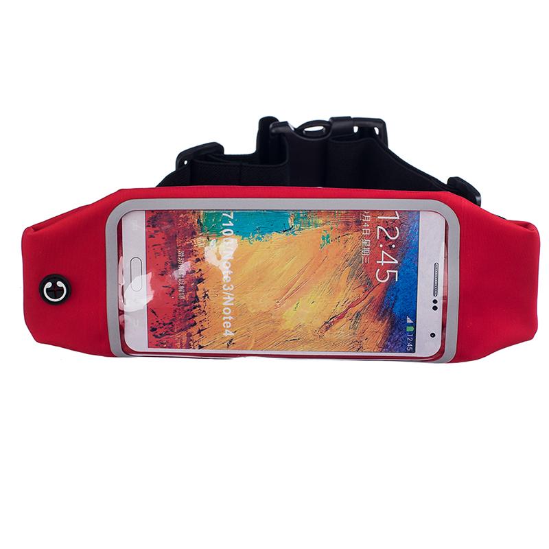 Sportovní ledvinka (pouzdro) na běhání pro Huawei Nova 3 Barva: Červená