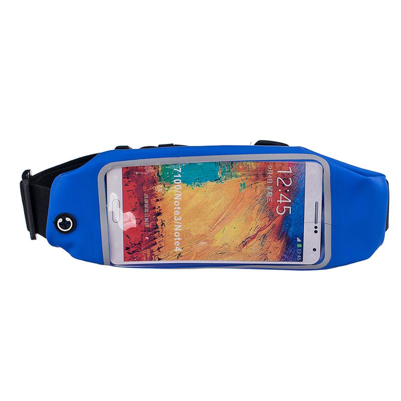 Sportovní ledvinka (pouzdro) na běhání pro Huawei Nova 3 Barva: Modrá tmavá