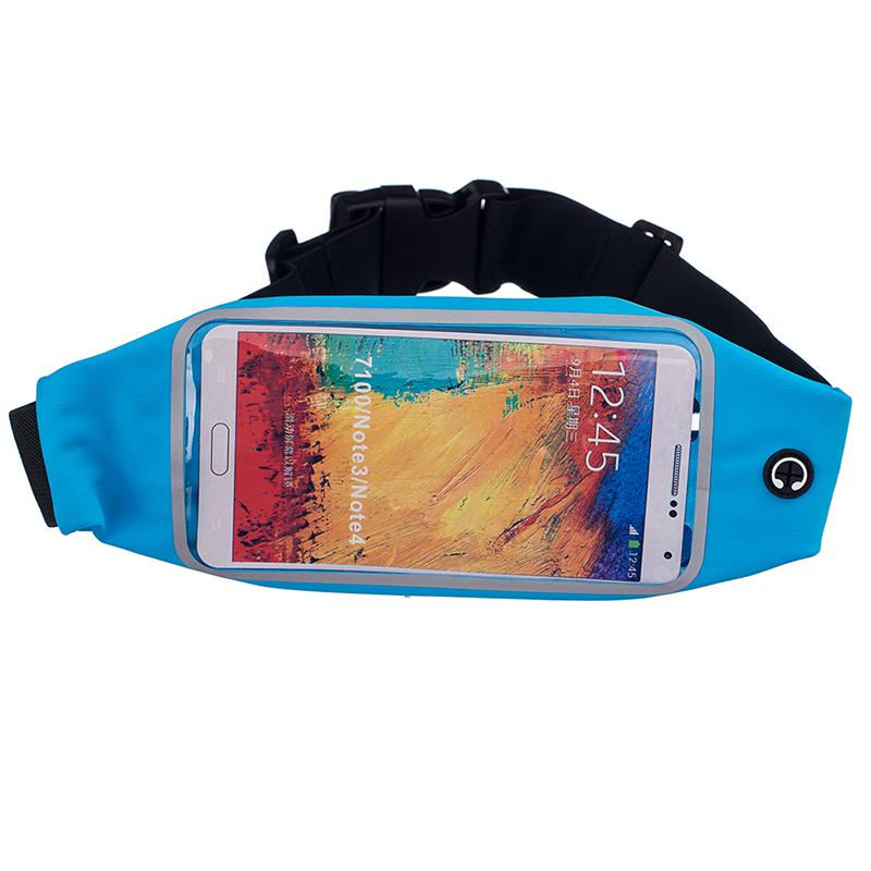 Sportovní ledvinka (pouzdro) na běhání pro Huawei Nova 3 Barva: Modrá