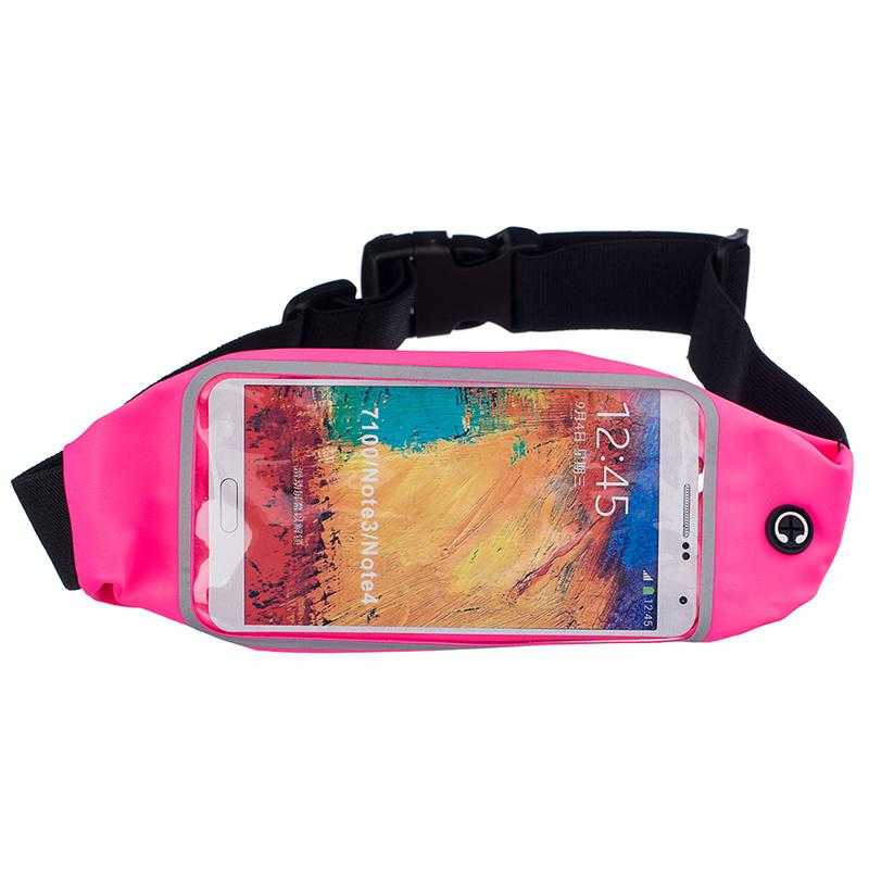 Sportovní ledvinka (pouzdro) na běhání pro Huawei Nova 3 Barva: Růžová tmavá