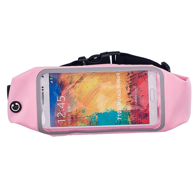 Sportovní ledvinka (pouzdro) na běhání pro Huawei Nova 3 Barva: Růžová