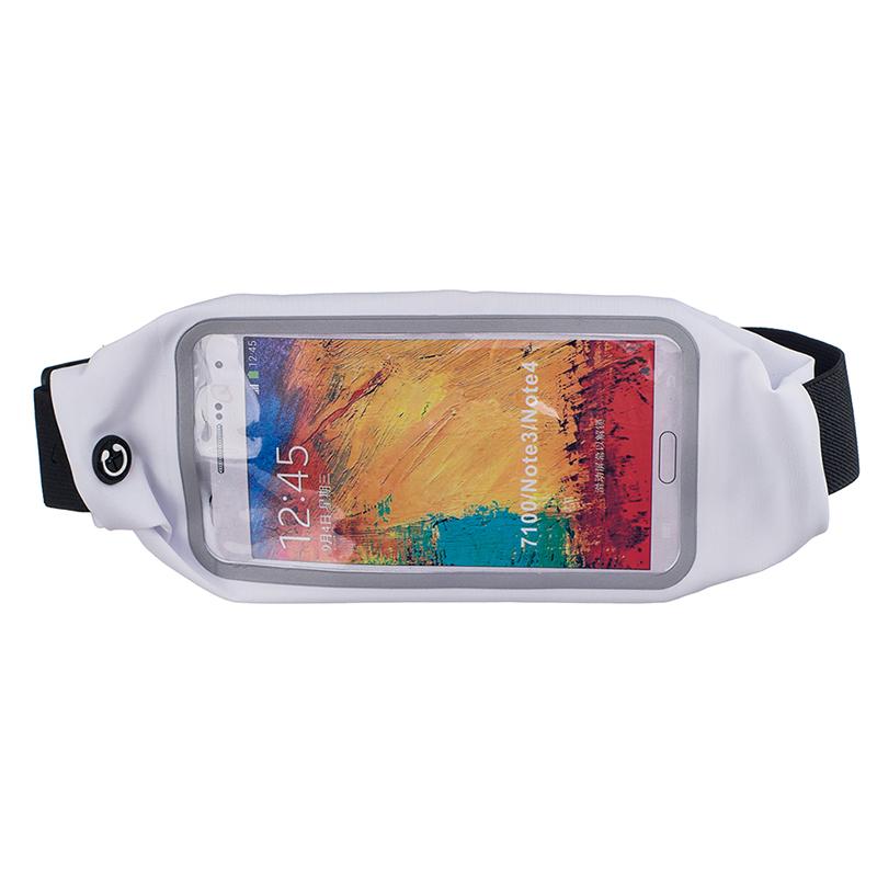 Sportovní ledvinka (pouzdro) na běhání pro Huawei P20 Lite Barva: Bílá