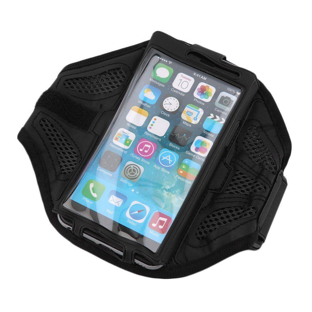 Sportovní pouzdro na ruku pro běhání pro Lenovo A536 Barva: Černé