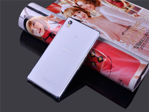 Ultra tenké pevné pouzdro pro Sony Xperia Z1 Compact (D5503) - bílé