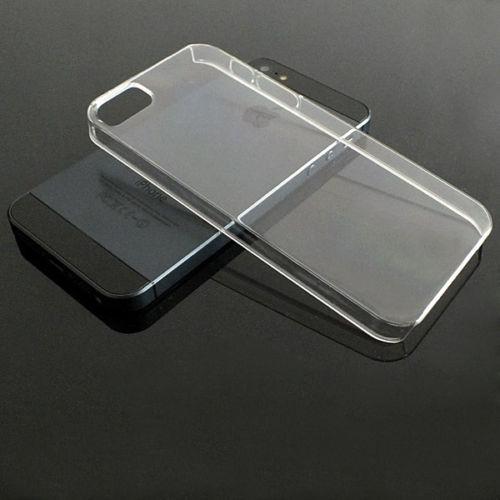 Ultra tenké polykarbonátové pevné pouzdro pro Apple iPhone 5C - transparentní