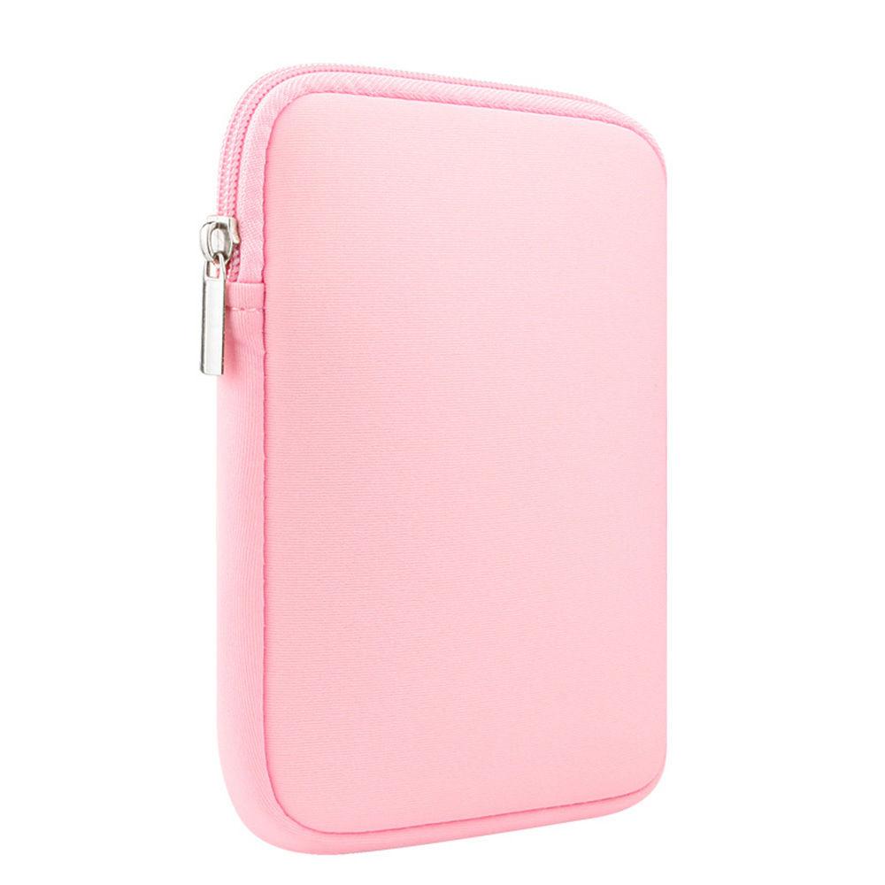 """Univerzální neoprenové pouzdro na tablet do velikosti 10"""" (Apple iPad 2017/2018, iPad Air 2 a další) - růžové"""