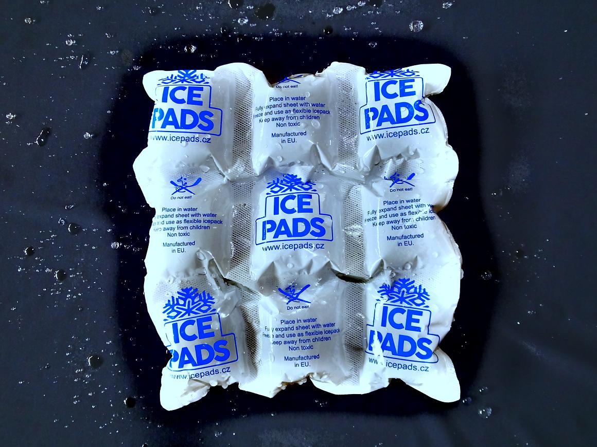 Icepads aktivované